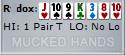 Mucked Poker Hands